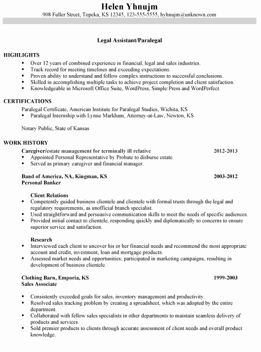 Entry Level Paralegal Resume New Paralegal Resume Google Search the Backup Plan