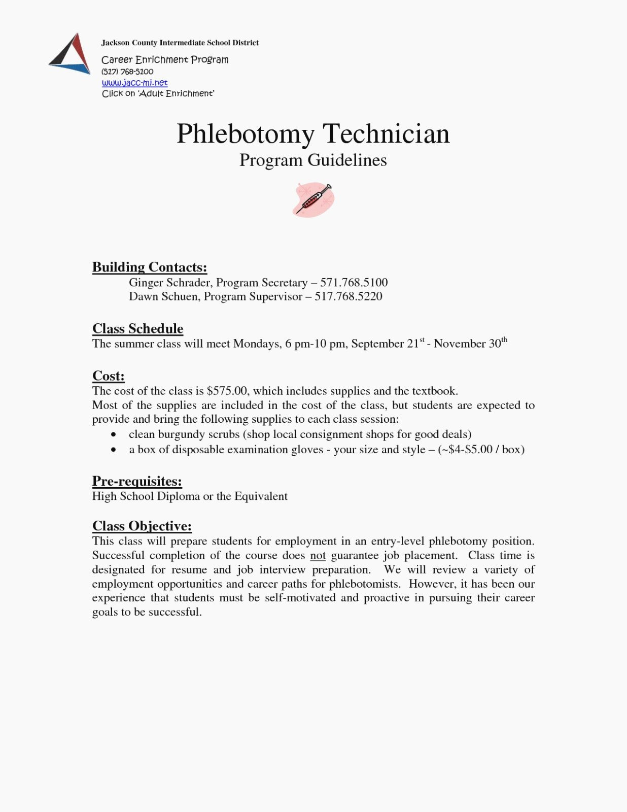 Entry Level Phlebotomy Resume New What Makes Phlebotomy