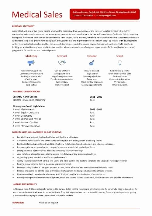 Entry Level Sales Resume Awesome Entry Level Medical Sales Resume