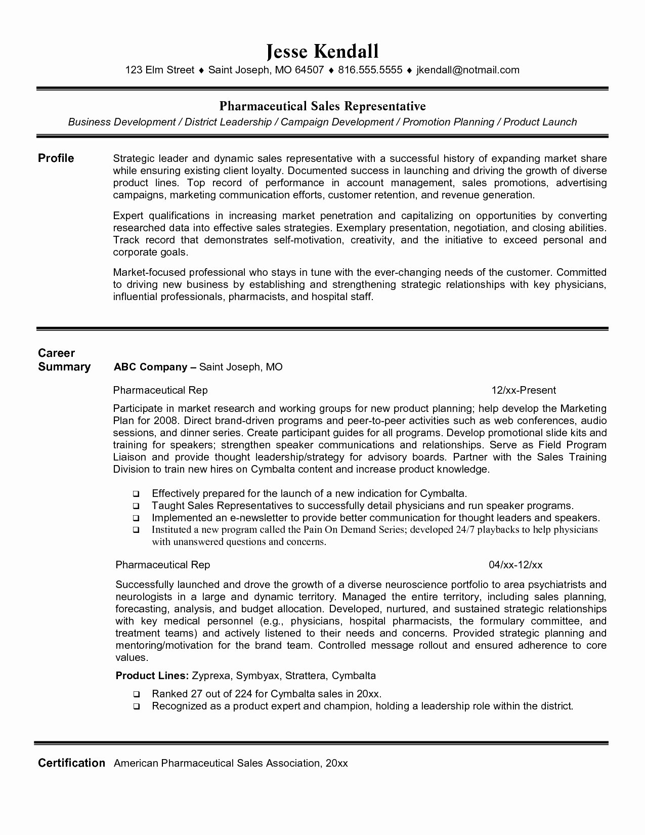 Entry Level Sales Resume Fresh Entry Level Retail Sales Resume
