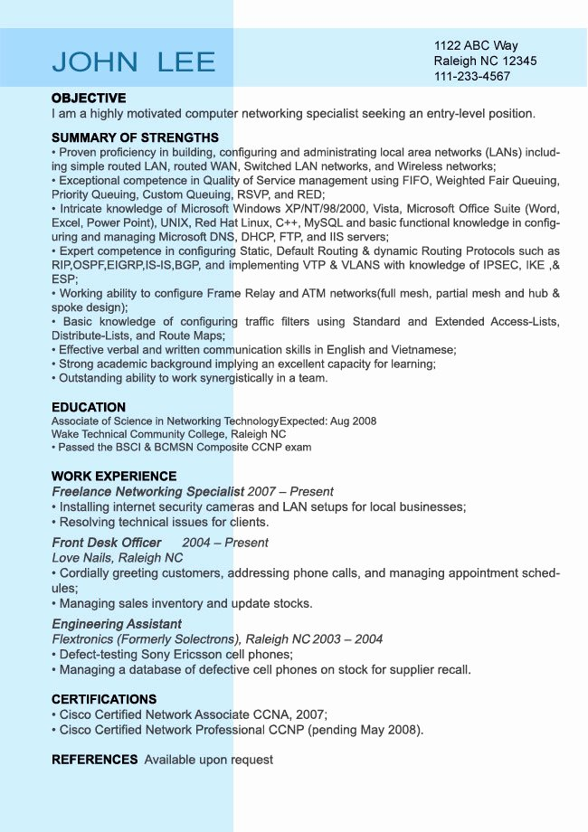 Entry Level Sales Resume Inspirational Entry Level Resume Sample Resumesplanet