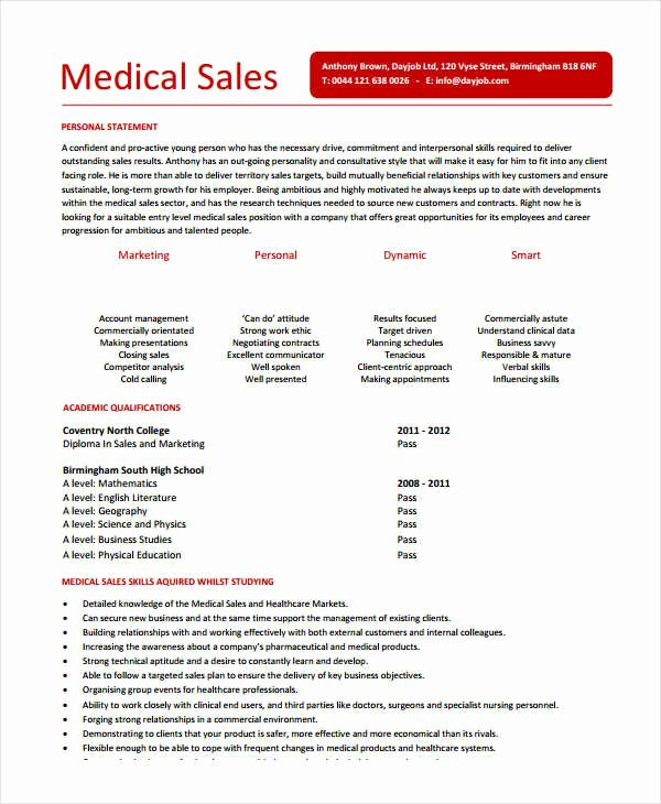 Entry Level Sales Resume Luxury Modern Sales Resume Template 31 Free Word Pdf Documents Download