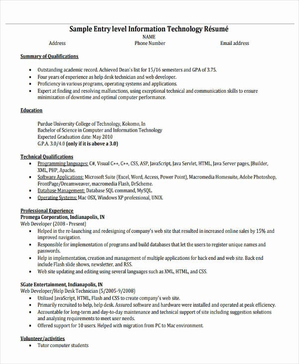 Entry Level social Work Resume Fresh 20 Simple Work Resume Templates Pdf Doc