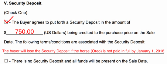 Equine Bill Of Sales Luxury Free Horse Bill Of Sale form Word Pdf