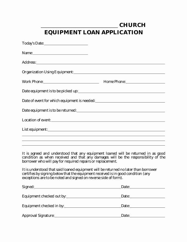 Equipment Loan Agreement Template Luxury Equipment Finance Agreement Template Expert Beautiful