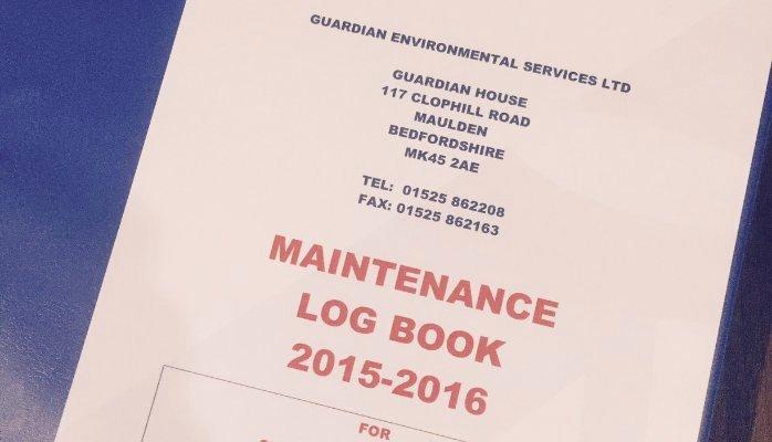 Equipment Maintenance Log Book Beautiful School Facilities Maintenance Guardian Environmental