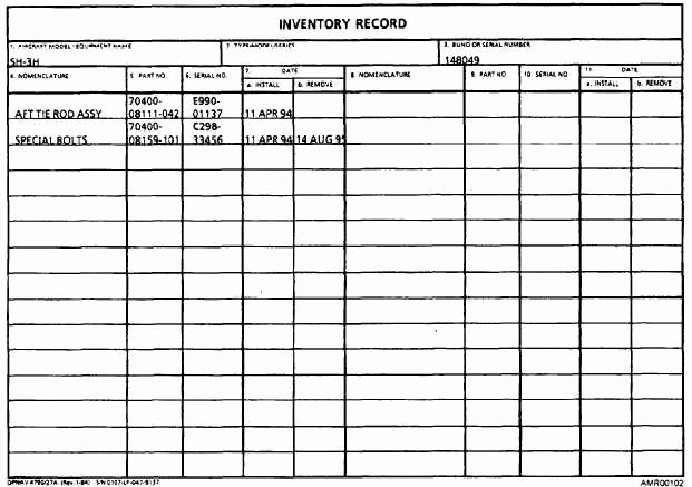 Equipment Maintenance Log Book Best Of 29 Of Inventory Records Template