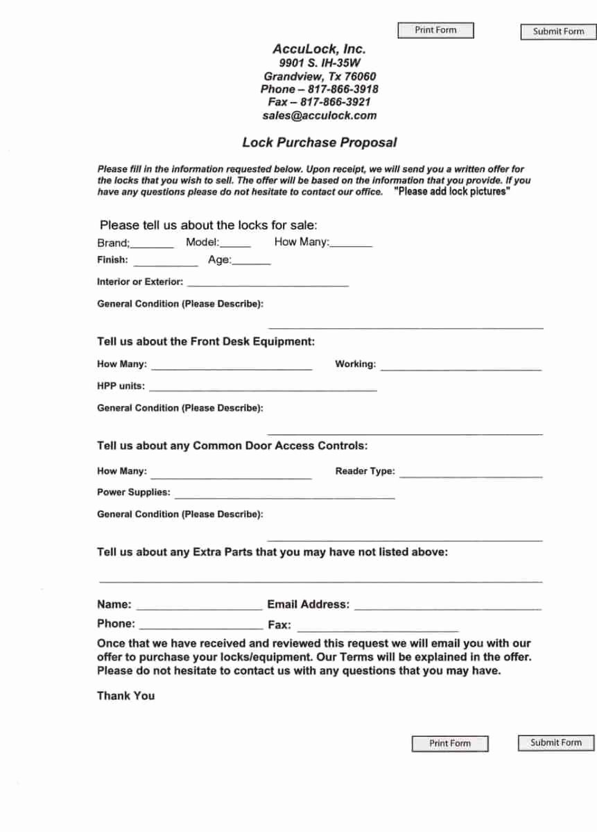 Equipment Purchase Proposal Template Awesome 5 Purchase Proposal Templates – Proposal Templates Pro