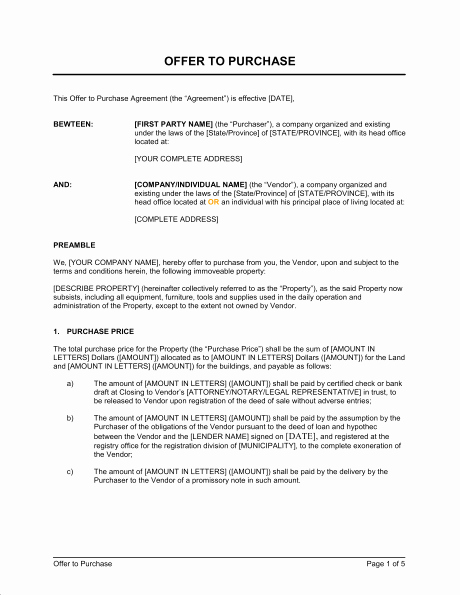 Equipment Purchase Proposal Template Lovely Real Estate Purchase Proposal Template