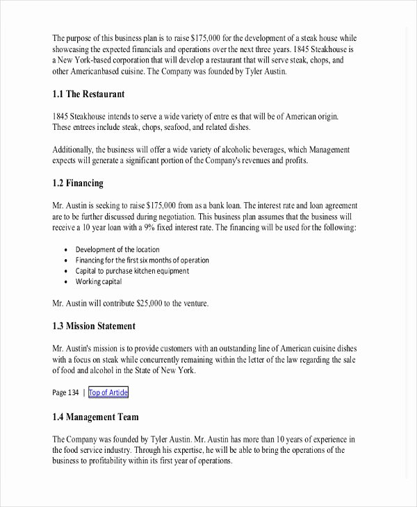 Equipment Purchase Proposal Template Unique Business Plan Statement Financing Needed