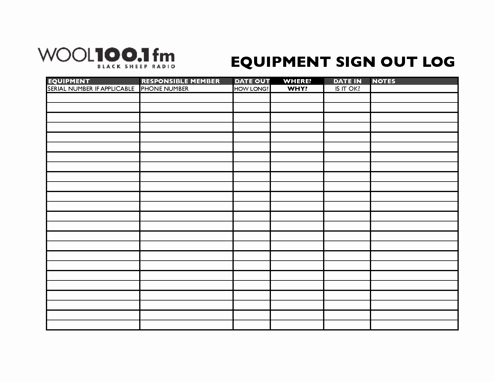 Equipment Sign Out Sheet Template Awesome Best S Of Sign In Sign Out Template Book Sign Out Sheet Template Employee Sign In Sign