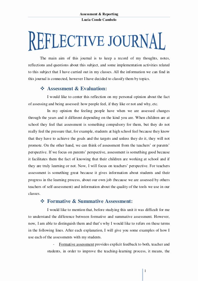 Essay On Leadership for Students Inspirational Reflective Journal Unit 1