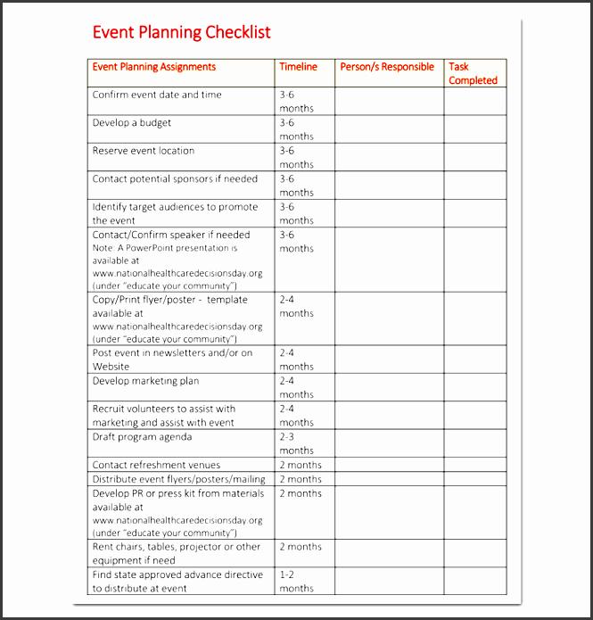Event Planning Checklist Pdf Best Of 10 Church event Planning Checklist Example Sampletemplatess Sampletemplatess