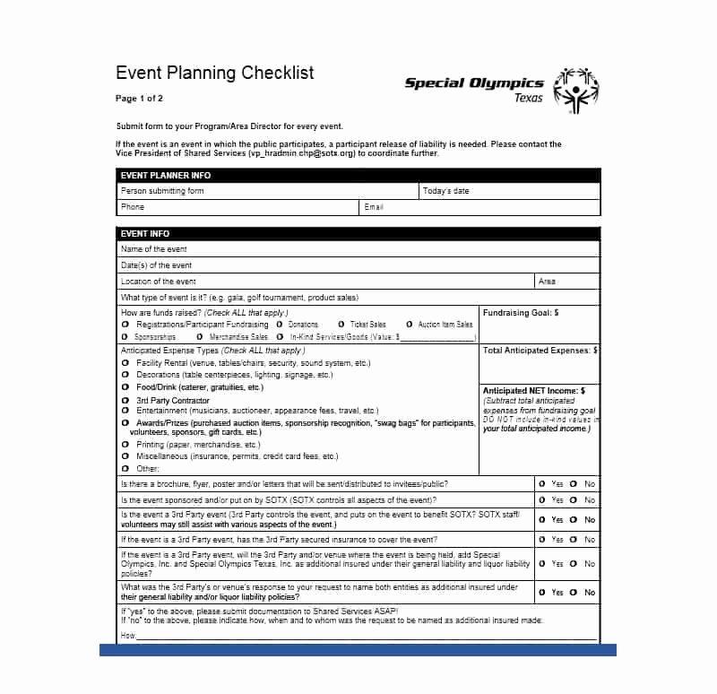 Event Planning Checklist Pdf Fresh 50 Professional event Planning Checklist Templates Template Lab