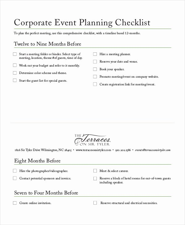Event Planning Checklist Pdf Luxury Checklist Template 19 Free Word Excel Pdf Documents Download