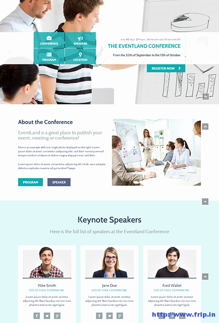 Event Registration Landing Page Beautiful 10 Best event Landing Page Templates for event Concerts Conferences
