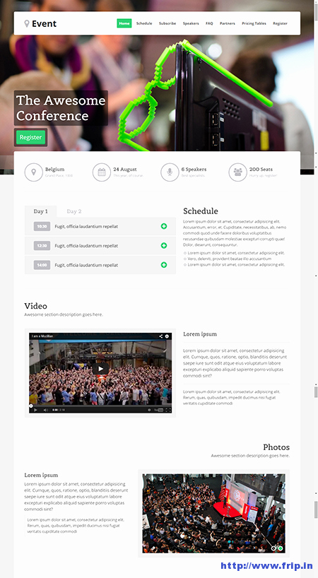 Event Registration Landing Page Beautiful 10 Best event Landing Page Templates for event Concerts Conferences