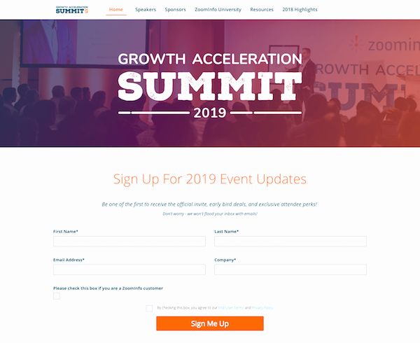 Event Registration Landing Page Beautiful 12 Registration Pages for events that Convert