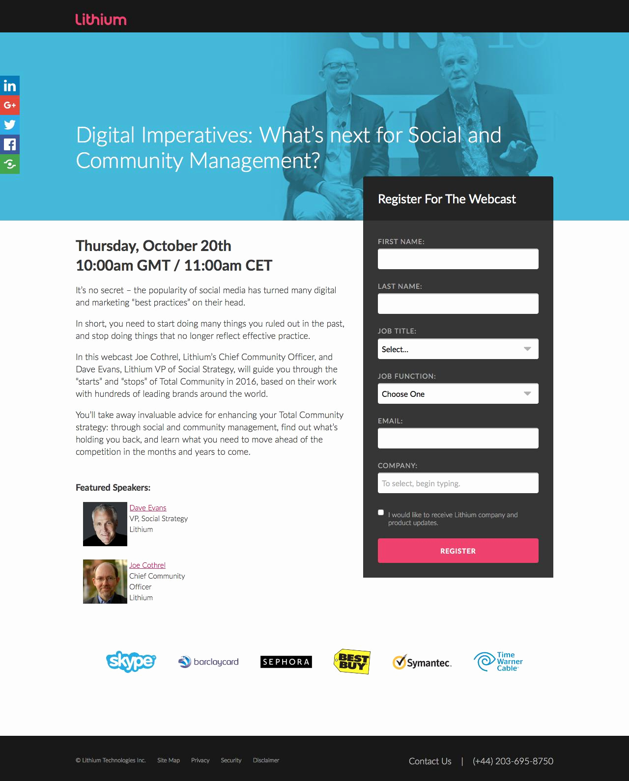 Event Registration Landing Page Fresh 101 Of the Best Landing Pages Analyzed Part 3