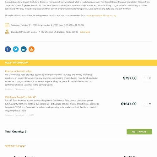 Event Registration Landing Page Luxury Create A Stunning event Registration Page Template