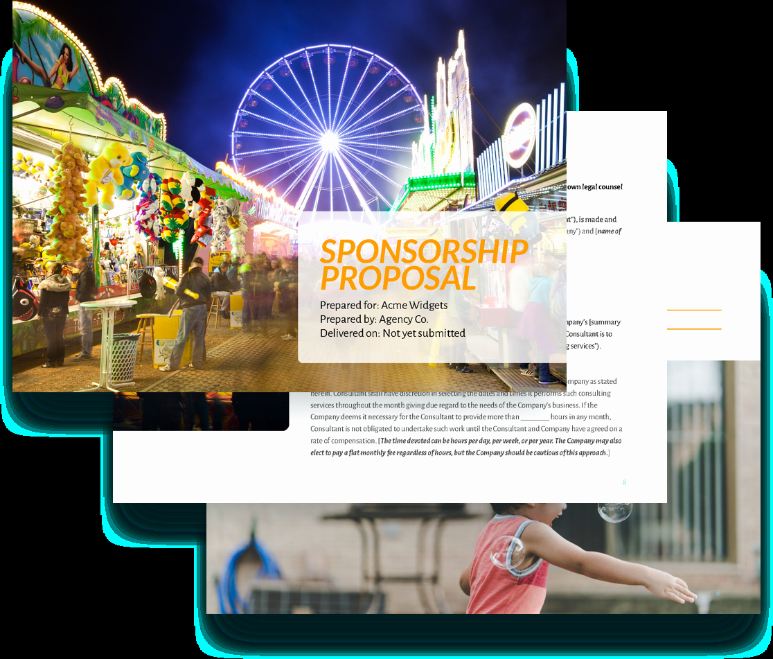 Event Sponsorship Proposal Pdf Unique Sponsorship Proposal Template Free Sample