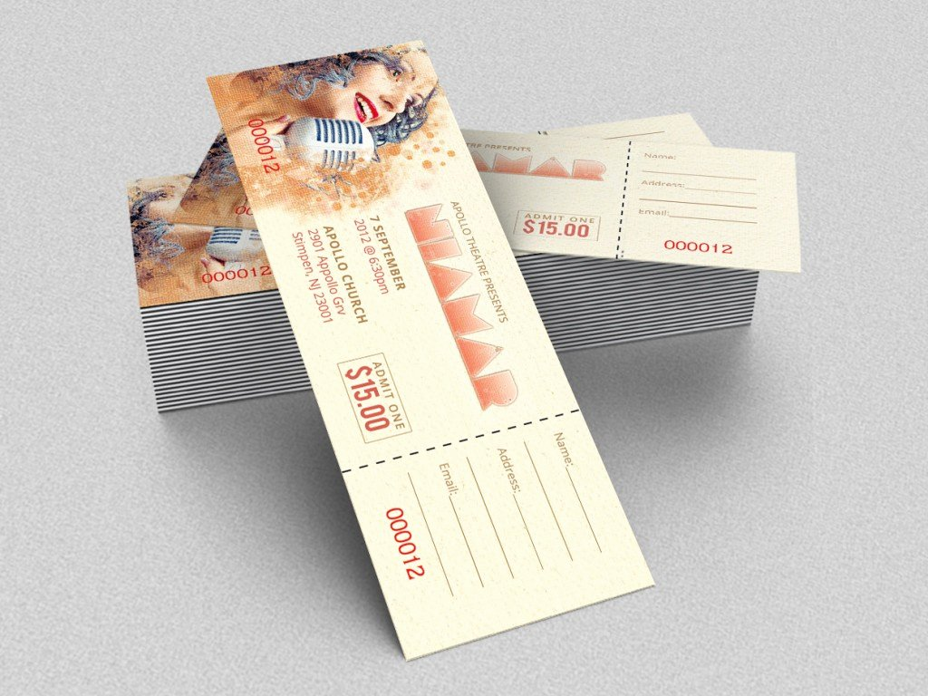 Event Ticket Template Photoshop Best Of 18 Shop Templates Ideas