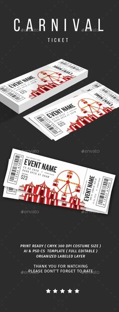 Event Ticket Template Photoshop Inspirational 121 Best Ticket Template Images On Pinterest In 2018