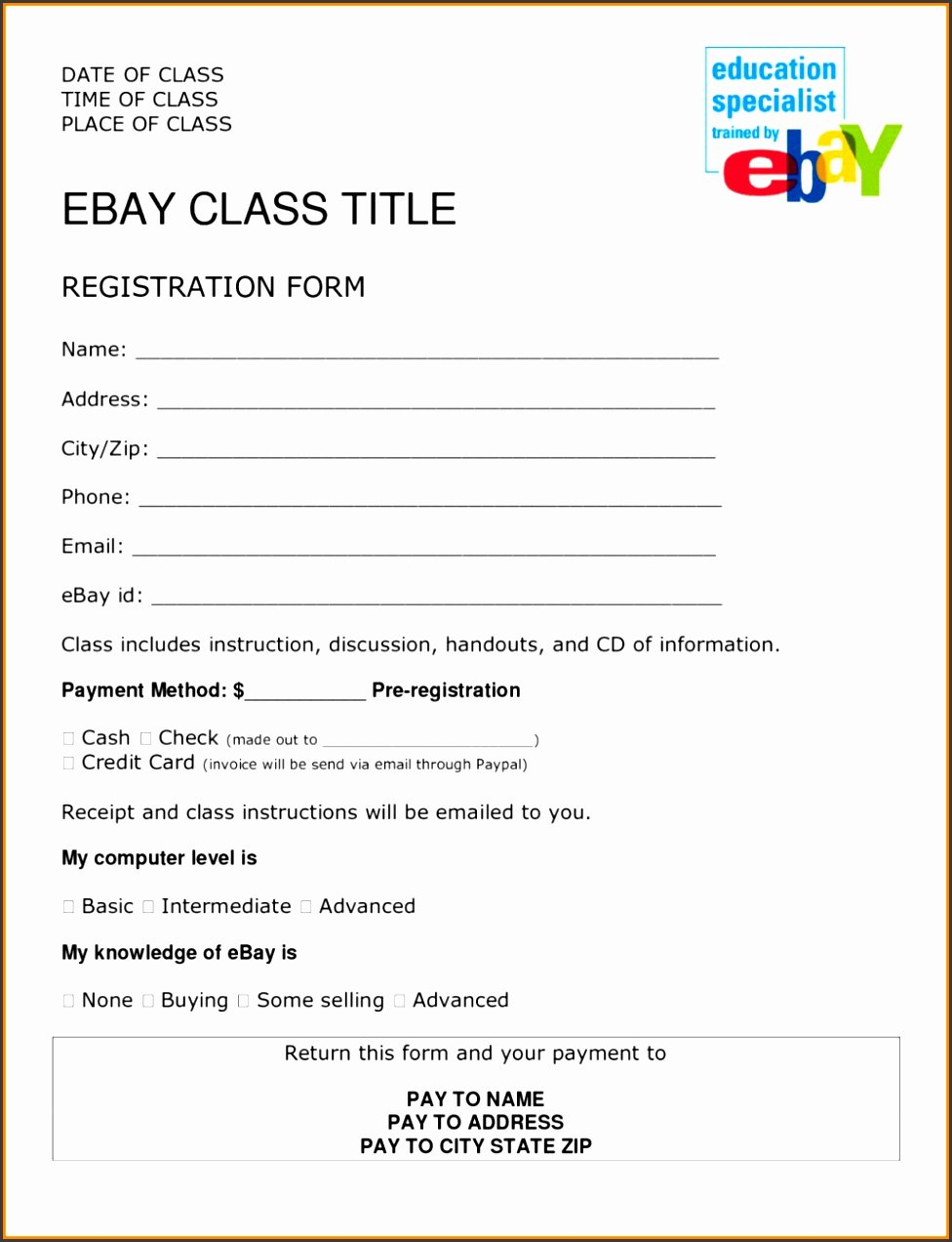 Event Vendor Registration form Inspirational 6 event Vendor Registration form Template Sampletemplatess Sampletemplatess