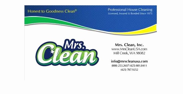 Examples Of Cleaning Business Cards Awesome Residential & House Cleaning Business Card Samples & Examples Startupguys