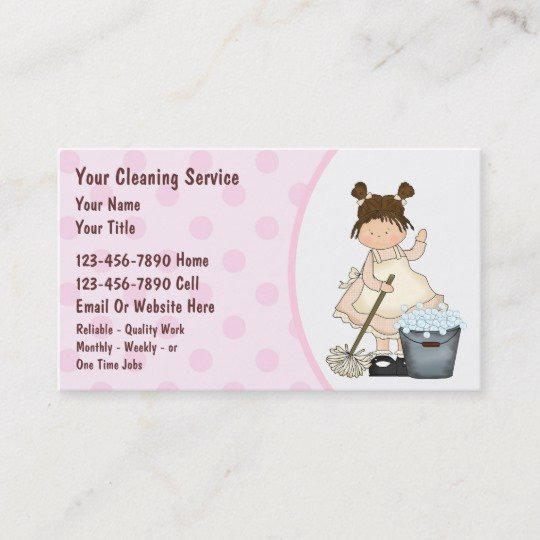 Examples Of Cleaning Business Cards Beautiful House Cleaning Business Cards