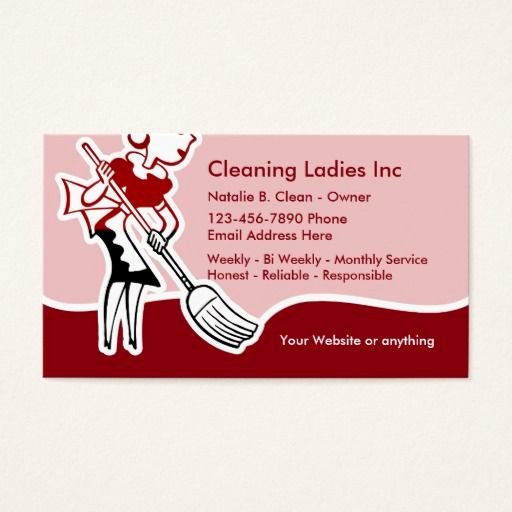 Examples Of Cleaning Business Cards Beautiful House Cleaning Maid Business Card Zazzle House Cleaning Business Cards