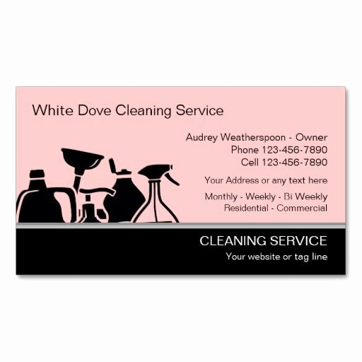 Examples Of Cleaning Business Cards Best Of 273 Best Images About Cleaning Business Cards On Pinterest