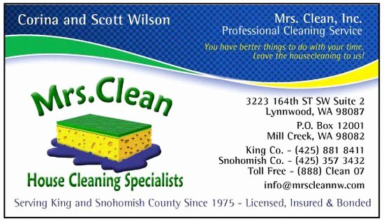 Examples Of Cleaning Business Cards Elegant Cleaning Quotes for Business Cards Quotesgram