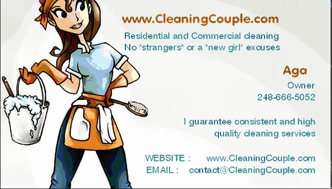 Examples Of Cleaning Business Cards Fresh Free Sample Flyer Start A House Cleaning Business for Maximum
