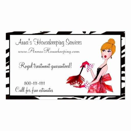 Examples Of Cleaning Business Cards Fresh House Cleaning Diva Business Cards