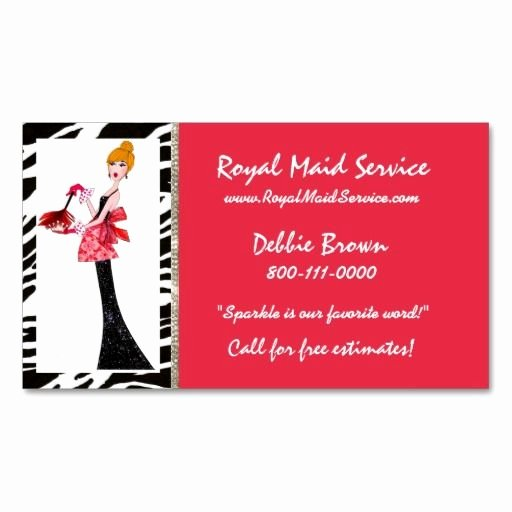 Examples Of Cleaning Business Cards New Housekeeping Business Cards Zazzle Cleaning Business Cards