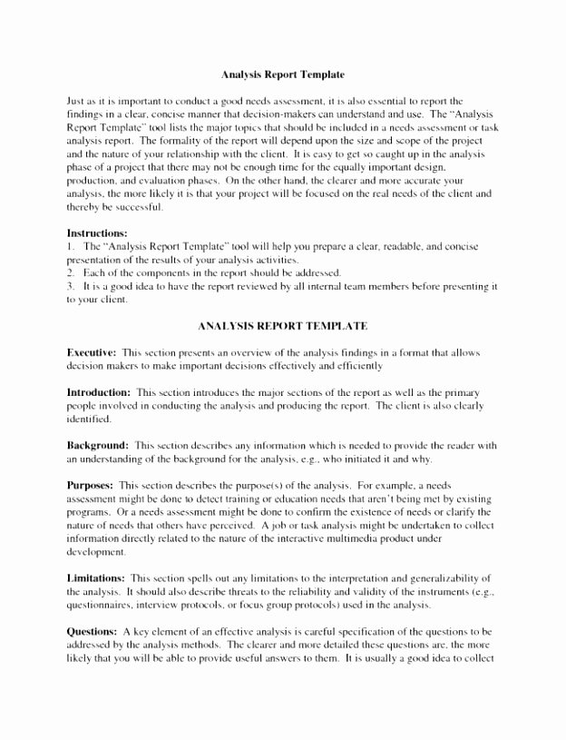 Failure Analysis Report Template Best Of 9 Root Cause Failure Analysis Template Yihso