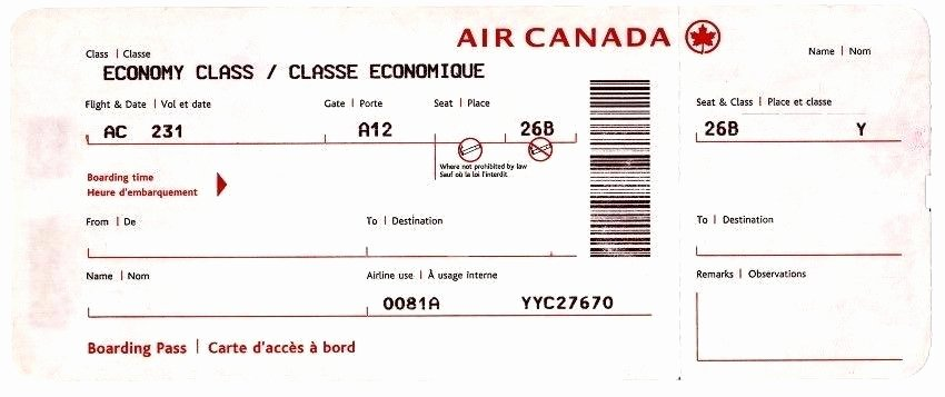 Fake Boarding Pass Template Fresh Fake Boarding Pass Template