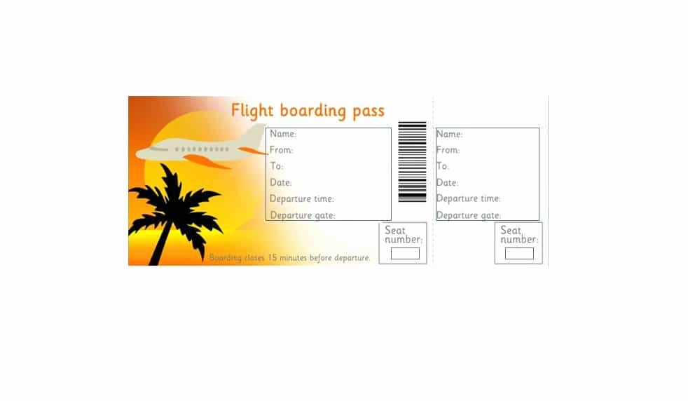 Fake Boarding Pass Template Lovely 16 Real & Fake Boarding Pass Templates Free Template Lab