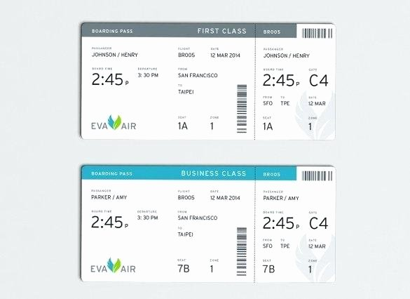 Fake Boarding Pass Template Lovely Fake Boarding Pass Template