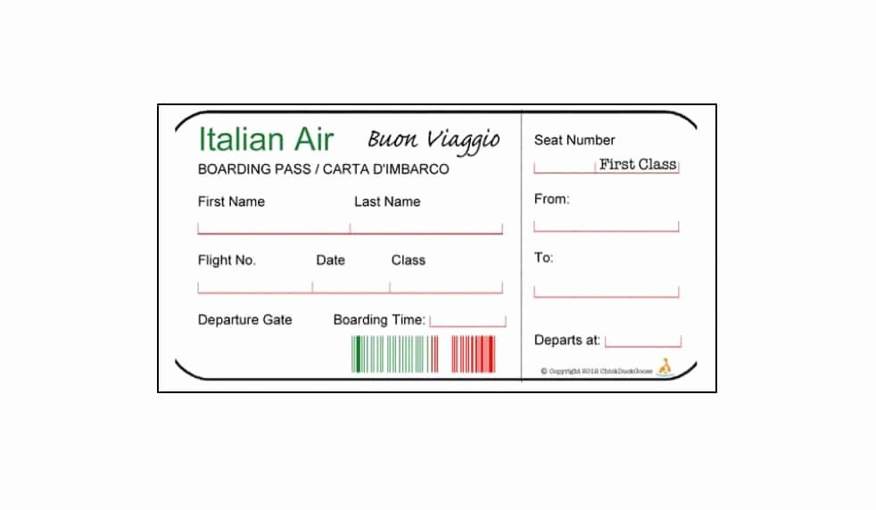 Fake Boarding Pass Template New 16 Real & Fake Boarding Pass Templates Free Template Lab