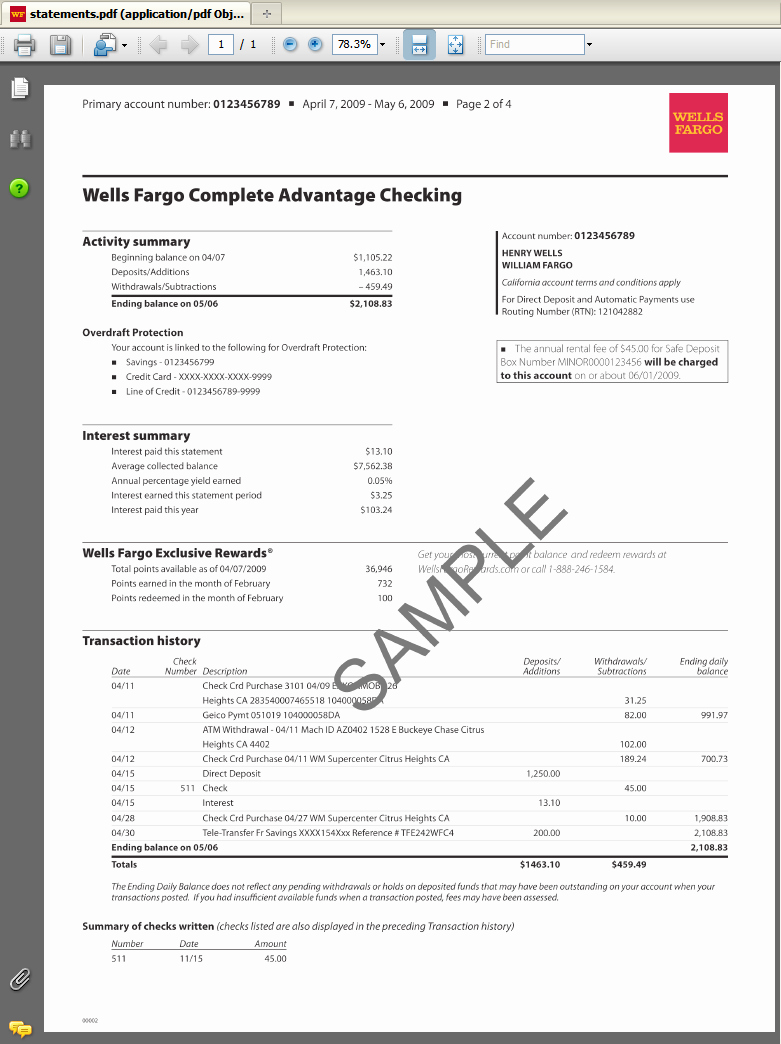 Fake Chase Bank Statement Template Inspirational Fake Bank Account Statement Creator
