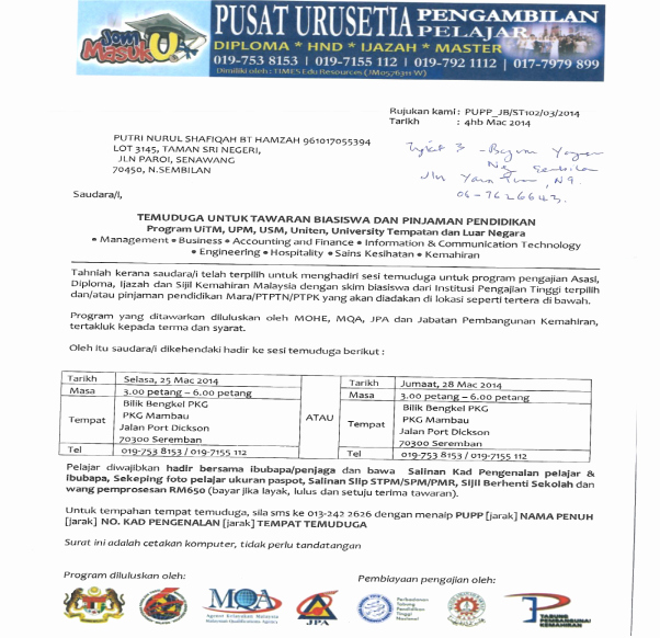 Fake College Acceptance Letter Maker Best Of Malaysian Ministry Of Education asks Students to Be Cautious Of Fake Offer Letters