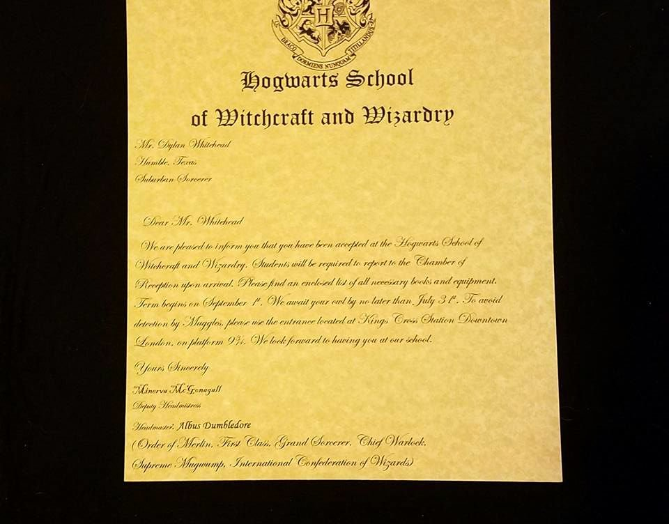 Fake College Acceptance Letter Maker Luxury Make Your Own Hogwarts Acceptance Letter
