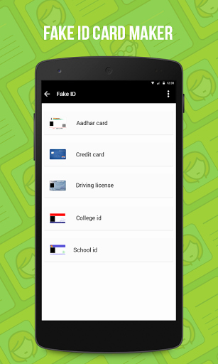 Fake Credit Report Generator Inspirational Fake Id Card Maker 1 0 Apk