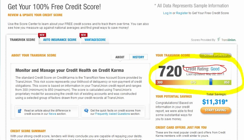 Fake Credit Report Generator Luxury What is A Good Credit Score Get Your Credit Score for Free & Find Out How You Rank
