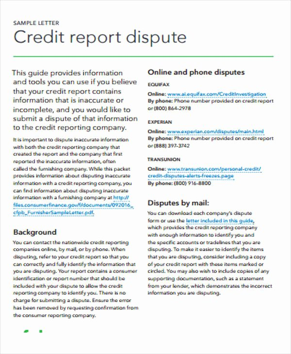 Fake Credit Report Template Fresh 12 Sample Credit Report Templates Docs Word Pages