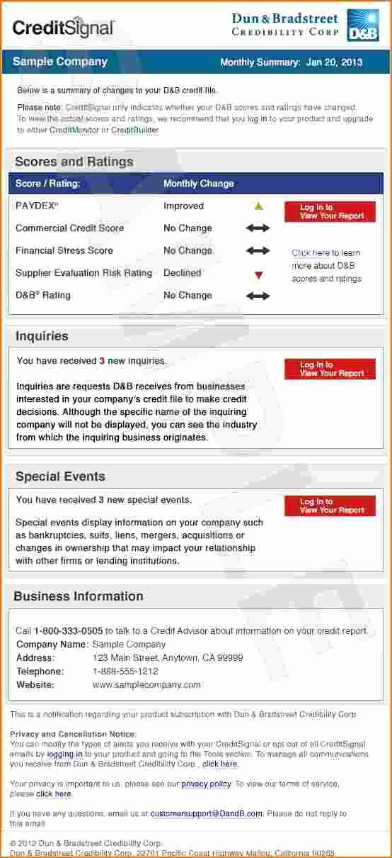Fake Credit Report Template New Fake Credit Report Template
