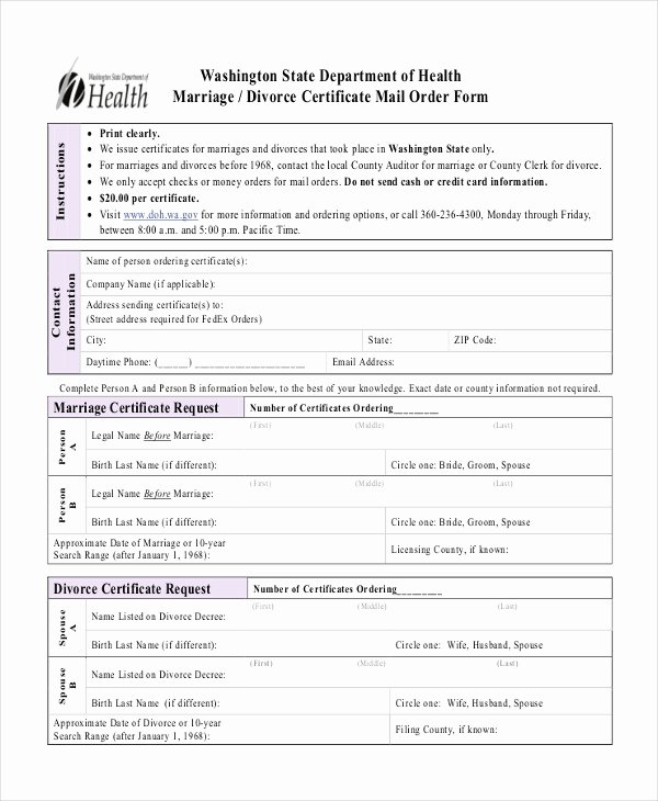 Fake Divorce Certificate Maker Awesome 11 Divorce Certificate Templates