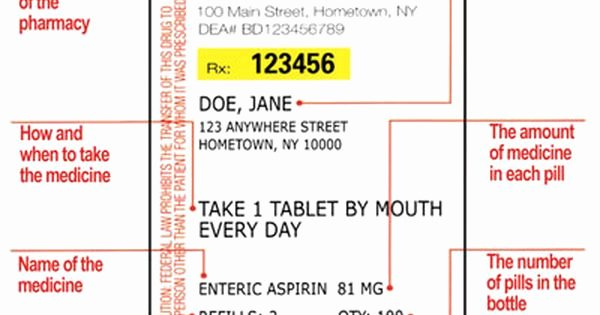 Fake Prescription Bottle Label Template Luxury Printable Rx Labels Printable Funny Prescription Labels Projects to Try Pinterest